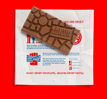 Load image into Gallery viewer, Dark Almond and Sea Salt Tony's Chocolonely 180g