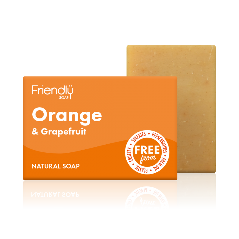 Friendly Soap Orange & Grapefruit Bar