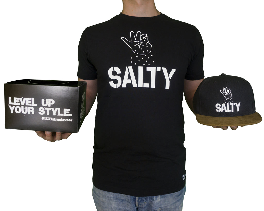 Salty Bundle (Shirt, Cap) - 1337Streetwear