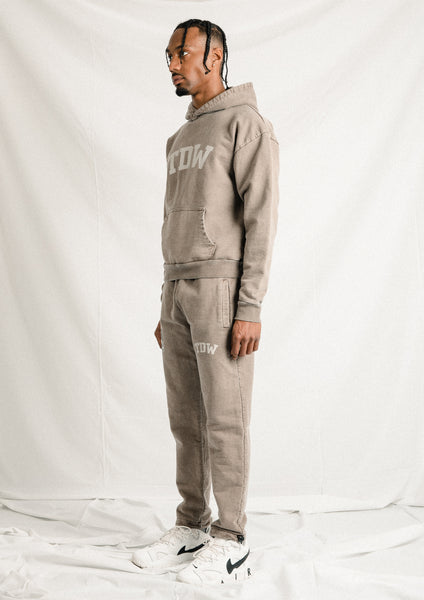 Washed Brown TDW Hoodie
