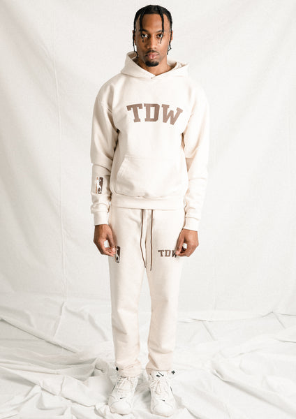 Cream TDW Sweatpant