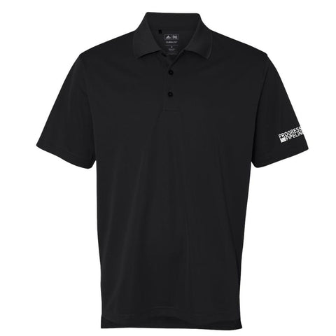 Men's Black Adidas Climalite Polo