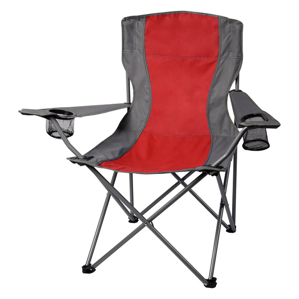 Two-Tone Folding Chair with Bag