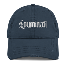 Load image into Gallery viewer, Louminati Distressed Dad Hat