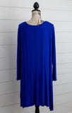 Blue Moon Tunic- Curvy