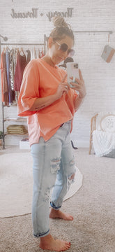 Chasing Coral Tunic