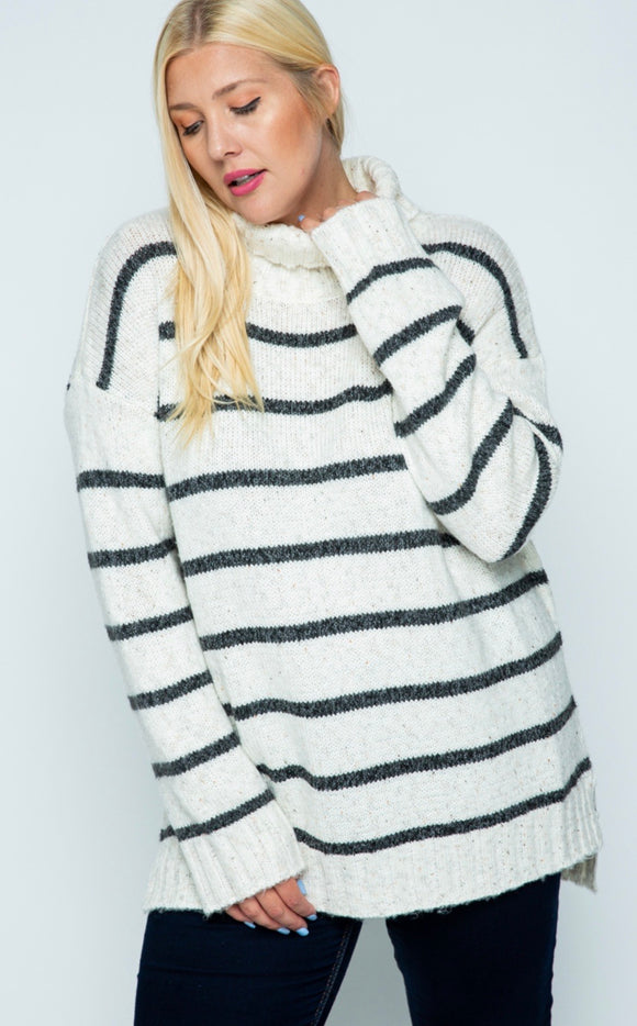 Lotta Love Sweater- Curvy