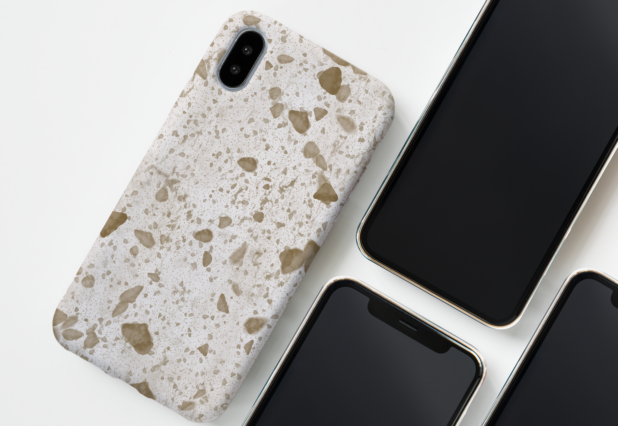 marble phone case collection page