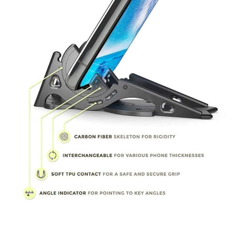 adjustable angle phone holder