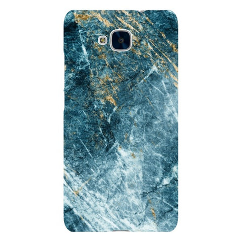 MARBLE - Sapphire Blue - Huawei-phone-case Blast Case LITE For Huawei Honor 5C