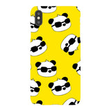 panda-Yellow-phone-case-IPhone Blast Case LITE For iPhone XS Max