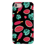 Summer-pattern-black-phone-case- IPhone Blast Case PRO For iPhone 8