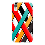Line-pattern-White-phone-case-IPhone Blast Case LITE For iPhone XR