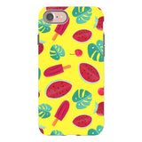 Summer-pattern-Yellow-phone-case- IPhone Blast Case PRO For iPhone 8