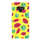 Summer-pattern-Yellow-phone-case-Samsung Blast Case LITE For Samsung Galaxy Note 9