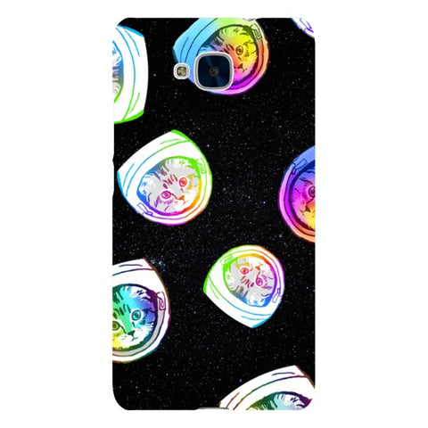 Floating-Kittens-Space-phone-case-Huawei Blast Case LITE For Huawei Honor 5C