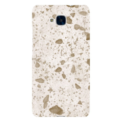 MARBLE-Golden-White-phone-case-Huawei Blast Case LITE For Huawei Honor 5C
