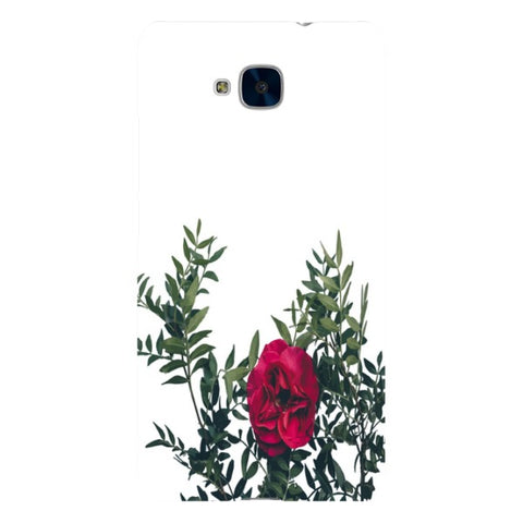 Red-rose-phone-case-Huawei Blast Case LITE For Huawei Honor 5C
