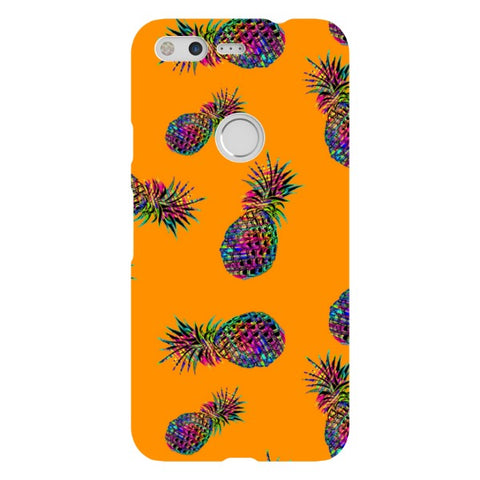 Radioactive-Pineapple-Orange-phone-case-Google-Pixel Blast Case LITE For Google Pixel