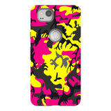 Camo-Pink-Yellow-phone-case-Google-Pixel Blast Case PRO For Google Pixel 2
