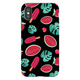 Summer-pattern-black-phone-case- IPhone Blast Case PRO For iPhone XS
