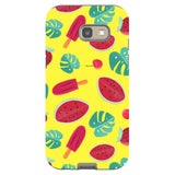 Summer-pattern-Yellow-phone-case-Samsung Blast Case PRO For Samsung A5 - 2017 Model