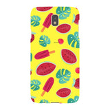 Summer-pattern-Yellow-phone-case-Samsung Blast Case LITE For Samsung Galaxy J7