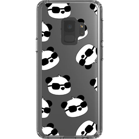 cool-panda-transparent-phone-case Blast Case Style Type B For Samsung Galaxy S9