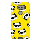 panda-Yellow-phone-case-LG Blast Case PRO For LG V30