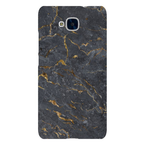 MARBLE - Golden Grey - Huawei-phone-case Blast Case LITE For Huawei Honor 5C