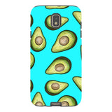 Guacamole-Light-Blue-phone-case-Samsung Blast Case PRO For Samsung Galaxy J7