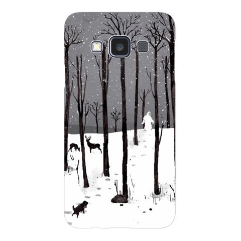 man-in-the-snow-phone-case-Samsung Blast Case LITE For Samsung A3 - 2014 Model