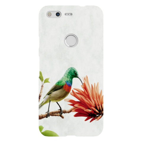 Bird-on-a-leaf-grey-phone-case-Google-Pixel Blast Case LITE For Google Pixel