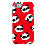 panda-Red-phone-case-IPhone Blast Case PRO For iPhone 8