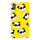 panda-Yellow-phone-case-IPhone Blast Case LITE For iPhone X