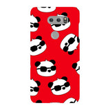 panda-Red-phone-case-LG Blast Case LITE For LG V30