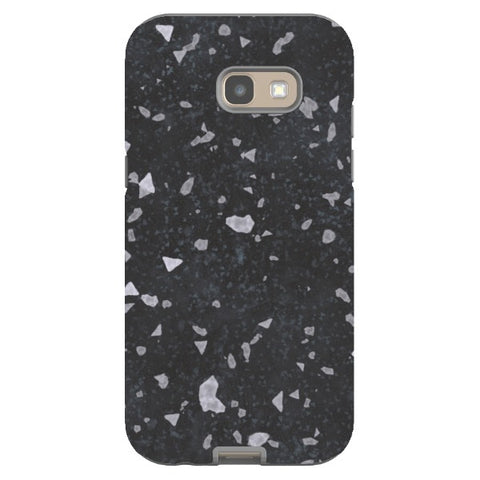 MARBLE-Grainy-Black-phone-case- Samsung Blast Case PRO For Samsung A5 - 2017 Model