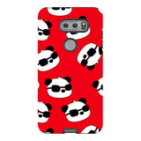 panda-Red-phone-case-LG Blast Case PRO For LG V30