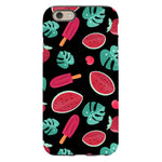 Summer-pattern-black-phone-case- IPhone Blast Case PRO For iPhone 6