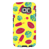 Summer-pattern-Yellow-phone-case-Samsung Blast Case PRO For Samsung Galaxy S6 Edge