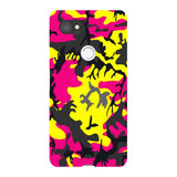 Camo-Pink-Yellow-phone-case-Google-Pixel Blast Case LITE For Google Pixel 2 XL