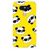 panda-Yellow-phone-case-LG Blast Case LITE For LG G5