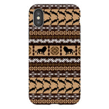 Africa-Lion-phone-case-IPhone Blast Case PRO For iPhone X