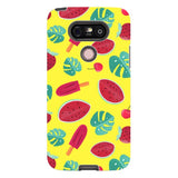 Summer-pattern-Yellow-phone-case-LG Blast Case PRO For LG G5