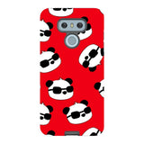panda-Red-phone-case-LG Blast Case PRO For LG G6
