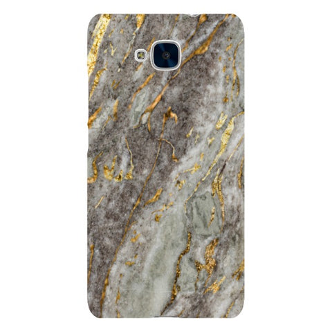 MARBLE - Light Gold - Huawei-phone-case Blast Case LITE For Huawei Honor 5C