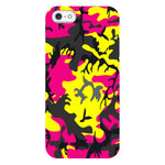 Camo-Pink-Yellow-phone-case-IPhone Blast Case PRO For iPhone 5