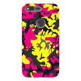 Camo-Pink-Yellow-phone-case-Google-Pixel Blast Case PRO For Google Pixel XL