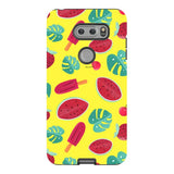 Summer-pattern-Yellow-phone-case-LG Blast Case PRO For LG V30