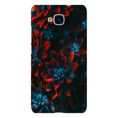 Flowers-D-phone-case-Huawei Blast Case LITE For Huawei Honor 5C
